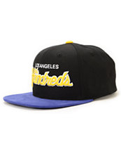 The Hundreds Team Two Black Strapback Hat