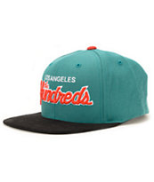 The Hundreds Team Two Turquoise Strapback Hat