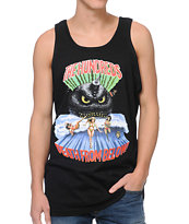 The Hundreds Tidal Black Tank Top