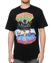 The Hundreds Tidal Black Tee Shirt