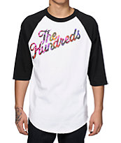 The Hundreds Tie Dye Slant Baseball T-Shirt