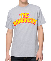 The Hundreds Triassic Heather Grey Tee Shirt