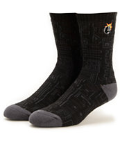 The Hundreds Trical Black Crew Socks