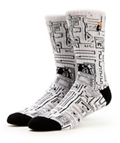 The Hundreds Trical White Crew Socks