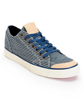 The Hundreds Valenzuela Low Hickory Stripe Skate Shoe