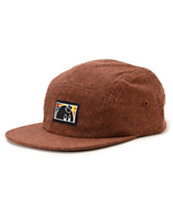 The Hundreds Wall Red 5 Panel Hat