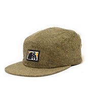 The Hundreds Wall Yellow 5 Panel Hat