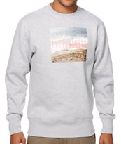 The Hundreds Wave Of Life Crew Neck Sweatshirt