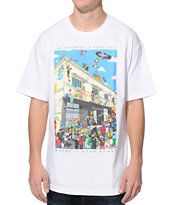 The Hundreds Where's Adam White Tee Shirt