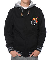The Hundreds Yosemite Black Varsity Jacket