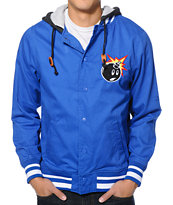 The Hundreds Yosemite Royal Blue Varsity Jacket