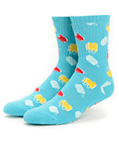 The Hundreds Yum Yum Popsicles Crew Socks