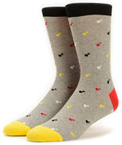 The Hundreds x Richer Poorer Polka Bomb Crew Socks