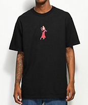 The Hundreds x Roger Rabbit Jessica Black T-Shirt