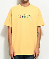The Hundreds x Roger Rabbit Weasels Light Orange T-Shirt