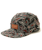 The Legends Paisley 5 Panel Hat