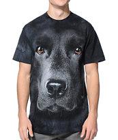 The Mountain Black Lab Black Tie Dye T-Shirt