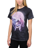 The Mountain Forever Wolves Charcoal Boyfriend T-Shirt