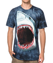 The Mountain Shark Bite Tie Dye Tee Shirt