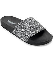 TheWhiteBrand Multi Glitter Slide Women's Sandals