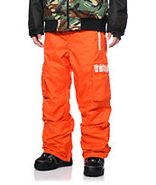 Thirtytwo Blahzay Orange 10K 2014 Snowboard Pants