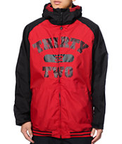 Thirtytwo Bradshaw Sesh Red 8K 2014 Snowboard Jacket