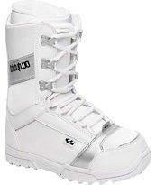 Thirtytwo Exus White Women's Snowboard Boots