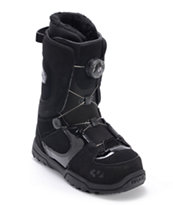 Thirtytwo Women's STW Boa Black 2013 Snowboard Boot