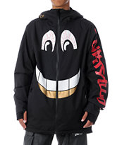 Thirtytwo x DGK Shiloh 2 10K Black Snowboard Jacket 2013