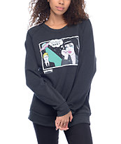 Thrasher Alien BF Crew Neck Sweatshirt