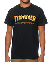 Thrasher Back Hit T-Shirt