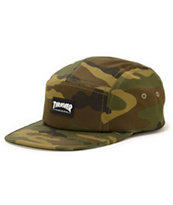Thrasher Camo 5 Panel Hat