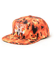 Thrasher Inferno Snapback Hat