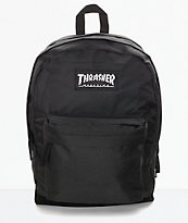 Thrasher Magazine Logo Black Backpack
