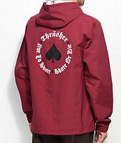 Thrasher New Oath Cardinal Coaches Jacket
