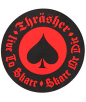 Thrasher Oath Sticker