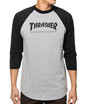 Thrasher Skate Mag Baseball T-Shirt