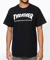 Thrasher Skate Mag Black Tee Shirt