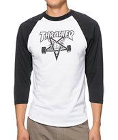 Thrasher Skategoat Baseball T-Shirt