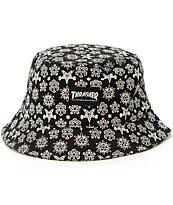 Thrasher Skategoat Holiday Bucket Hat