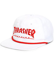 Thrasher Structureless Rope Snapback Hat