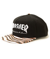 Thrasher Tiger Stripe Snapback Hat