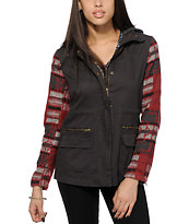 Thread & Supply Diana Aztec Hooded Jacket