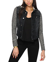 Thread & Supply Liz Dark Wash Denim Jacket