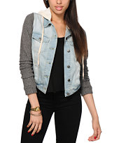 Thread & Supply Liz Light Wash Denim Jacket