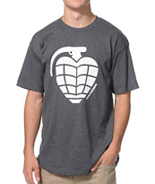 Thunder Basic Grenade Heather Charcoal Tee Shirt