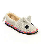 Tigerbear Republik Beastie Bestie Shtoopid Shark Slippers
