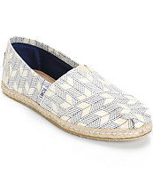 Toms Classic Whisper Shashiko Women's Shoes