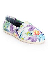 Toms Classics Birds Of Paradise Shoes
