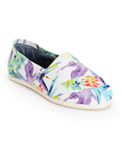 Toms Classics Birds Of Paradise Women's Shoes